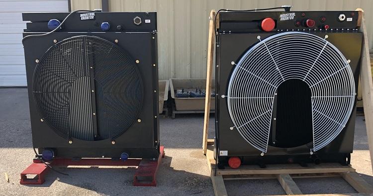 Detroit diesel radiators