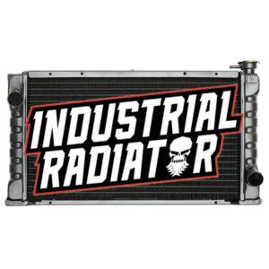 Clark Forklift Radiator - 21 1/4 x 12 1/2 x 2 3/8