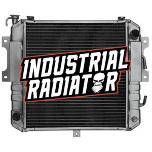 Komatsu/Allis/Kalmar Forklift Radiator - 15 5/8 x 16 5/8 x 2 3/8