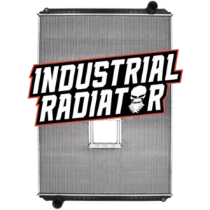 Freightliner Radiator - 45 3/4 x 33 3/4 x 2 3/16 (PTR With Crank Box)