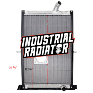 Mack Radiator - 38 7/8 x 27 1/2 x 2 Without Cooler (With Crankbox)