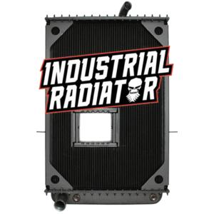 Mack Radiator - 39 x 26 13/16 x 2 1/16 (With Crankbox)