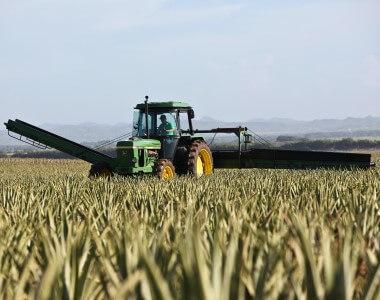 Agriculture tractor equipment radiators
