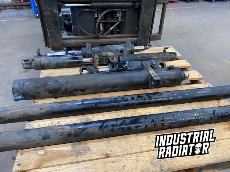 Hydraulic cylinders ready for service at Industrial Radiator
