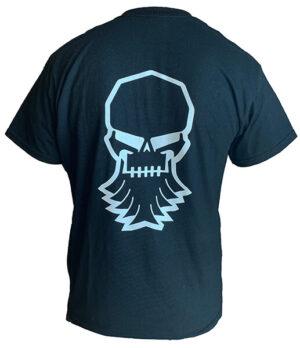 Industrial Radiator skull logo T-shirt back