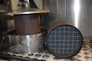Diesel particulate filter cleaning and maintenance