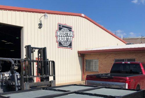 Industrial Radiator Service shop exterior