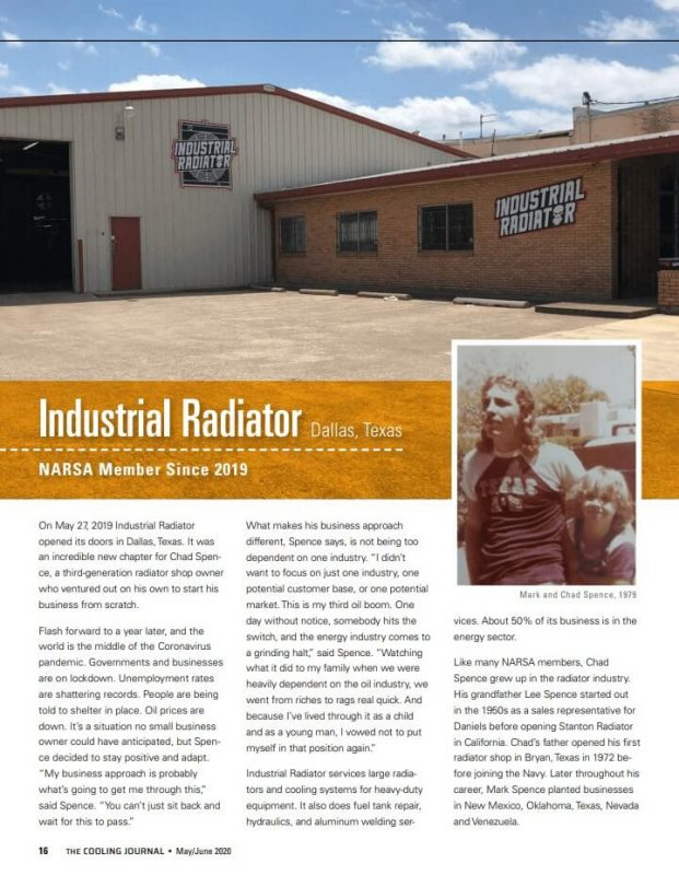 Industrial Radiator Cooling Journal feature second page